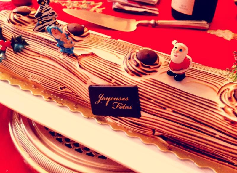 En cette période de fin d'année,   la bûche de Noël est le dessert par excellence.