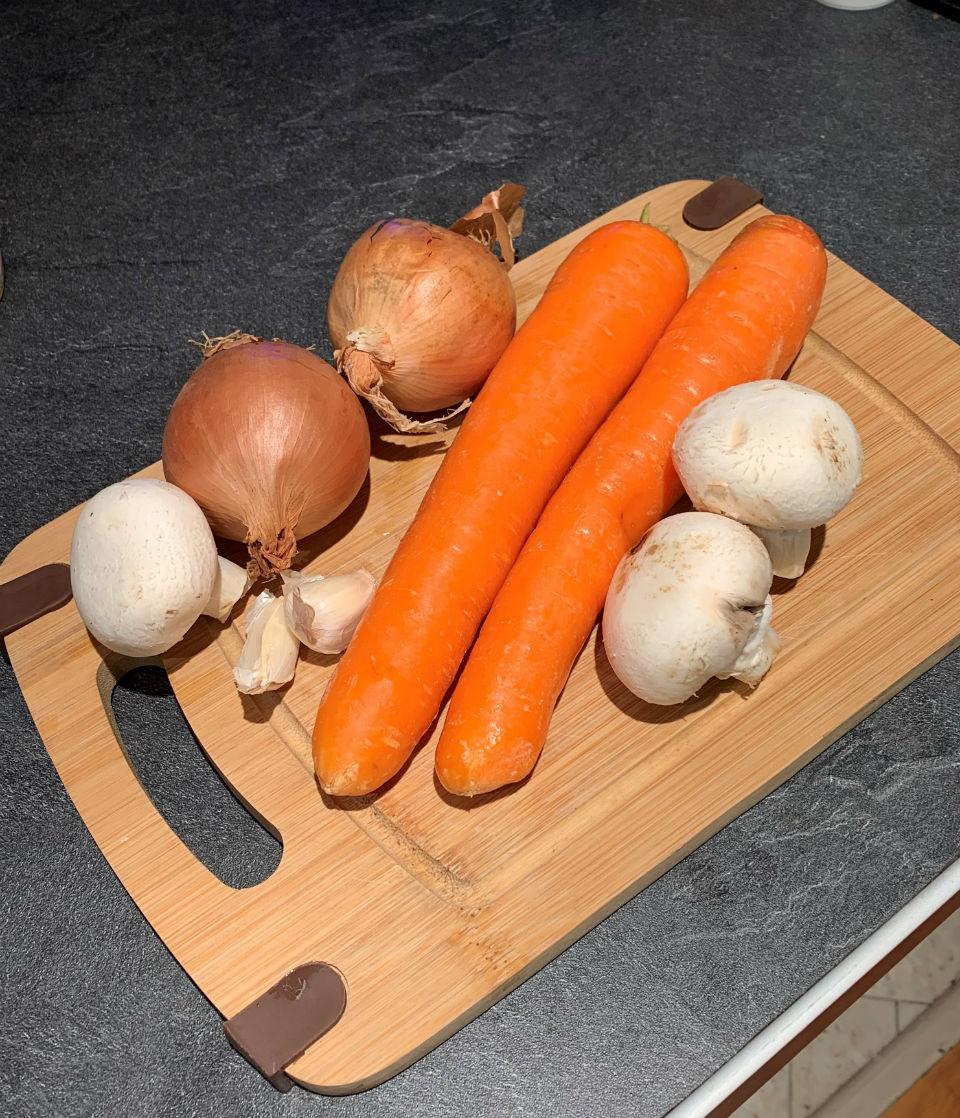 carottes oignons