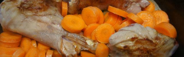 carottes poulet plat